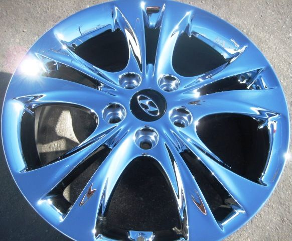 17 FACTORY HYUNDAI SONATA OEM CHROME WHEELS RIMS 2006 2011   SET OF 4